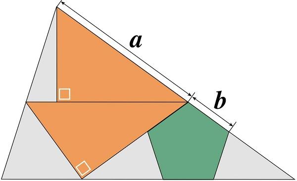2 треугольника и пятиугольник
