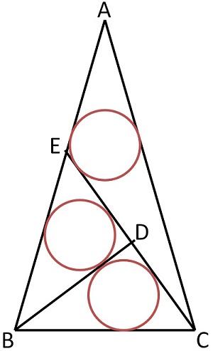 3 окружности