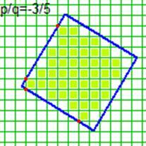 Квадрат на тетрадке в клеточку – 2